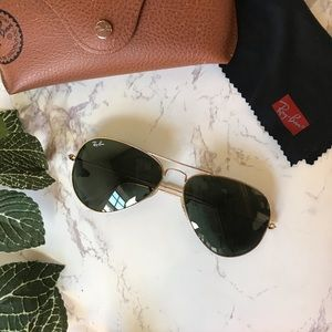 Ray-Ban | Aviator Classic Green Gold RB 3025